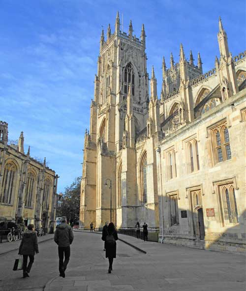 York Minster. Photo by Mary Casey-Sturk