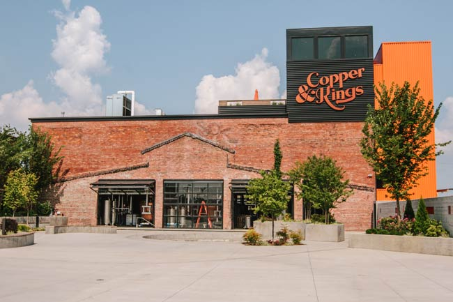 The Copper & Kings distillery in the Butchertown neighborhood is trying to put Louisville on the map as much for its production of brandy as it is for bourbon.