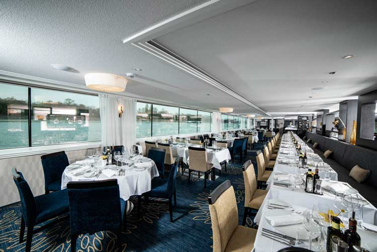 Dining is a highlight on the Envision. Photo by Avalon Waterways