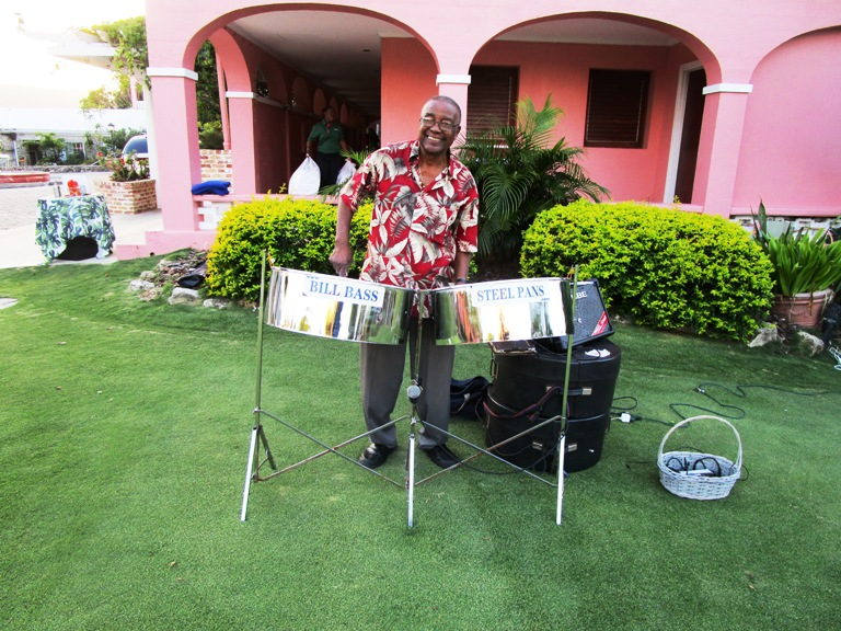 Evening entertainment representing St. Croix musical traditions at The Buccaneer Resort Photo by Victor Block