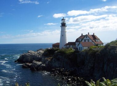 Portland Head Light is one of eight operating lighthouses along the 3,500-mile Maine coast. Photo by Janna Graber