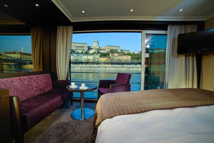 A Panorama Suite on the Avalon Envision. Photo by Avalon Waterways