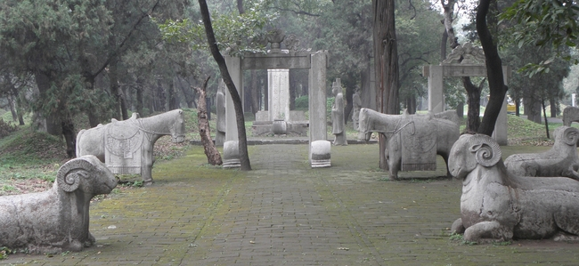 The Confucius family cemetery in Shandong Province, China, by Victor Block