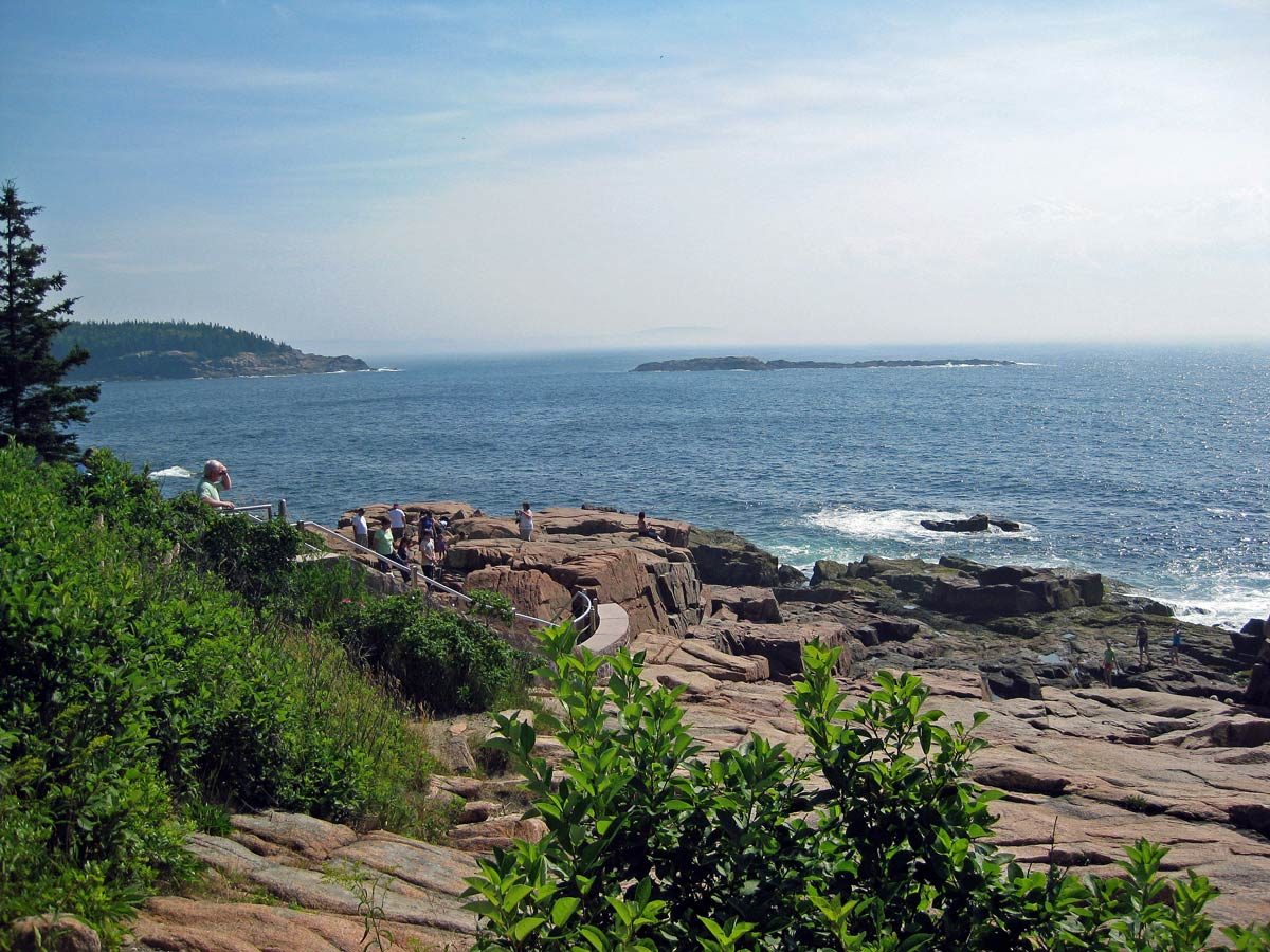 The rugged Maine coast in Acadia National Park. Photo by Pat Woods
