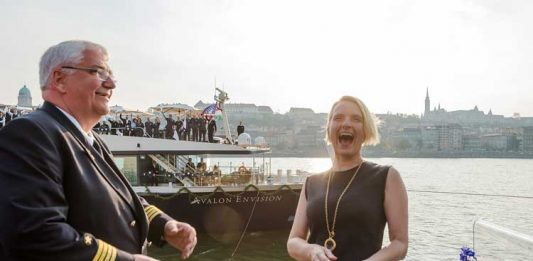 EAT, PRAY, LOVE Author Elizabeth Gilbert Christens the Avalon Envision