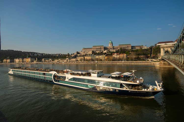 The Avalon Envision is the newest river cruise ship from Avalon Waterways. Photo by Avalon Waterways