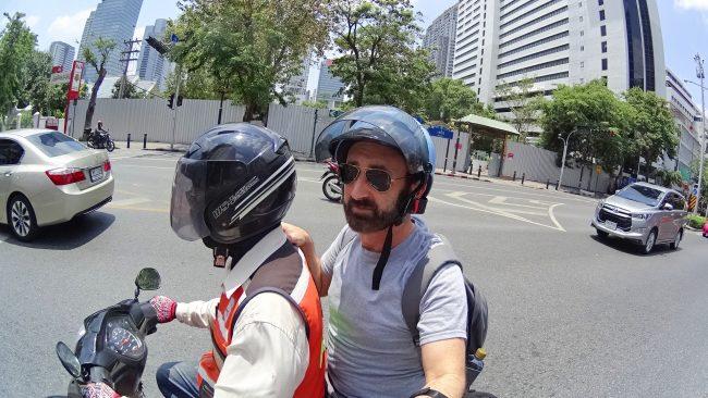 Scooter taxi bangkok