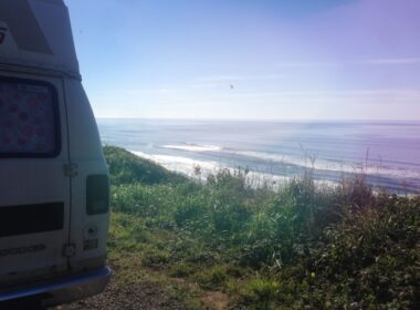 california coast-Van Morrison-road trip-campervan-nature
