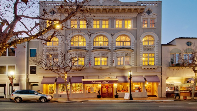 historic-hotel-monterey-california-road trip-canada to mexico