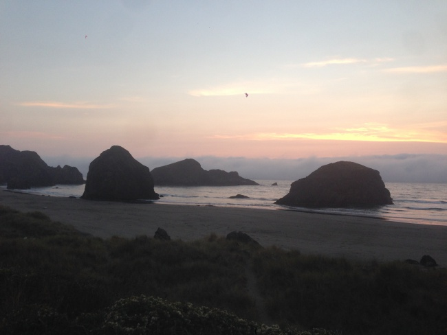 Gold Beach- california- coast- ocean- van morrison- camper van- road trip- canada to mexico- adventure