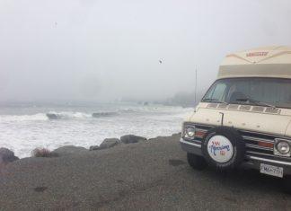 ocean- Van Morrison- california coast- Klamath- travel- road trip- chelsea beamish- from canada to mexico - camper van