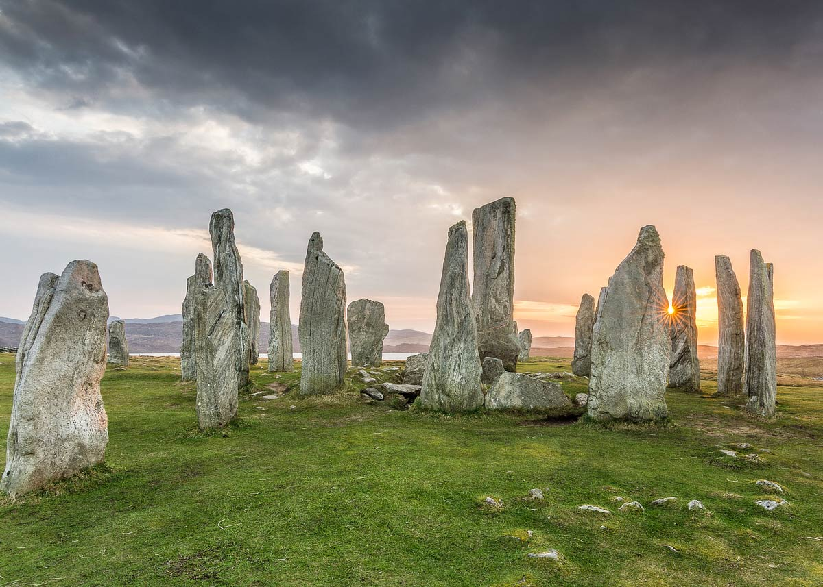 5,000-year-old Callanish Stones. Flickr/