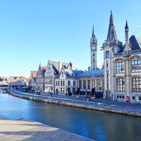 Ghent, Belgium. Photo by Janna Graber