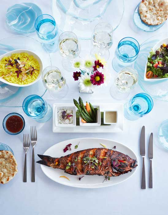 Dining at Blue Cilantro in Grand Cayman. Photo by Blue Cilantro