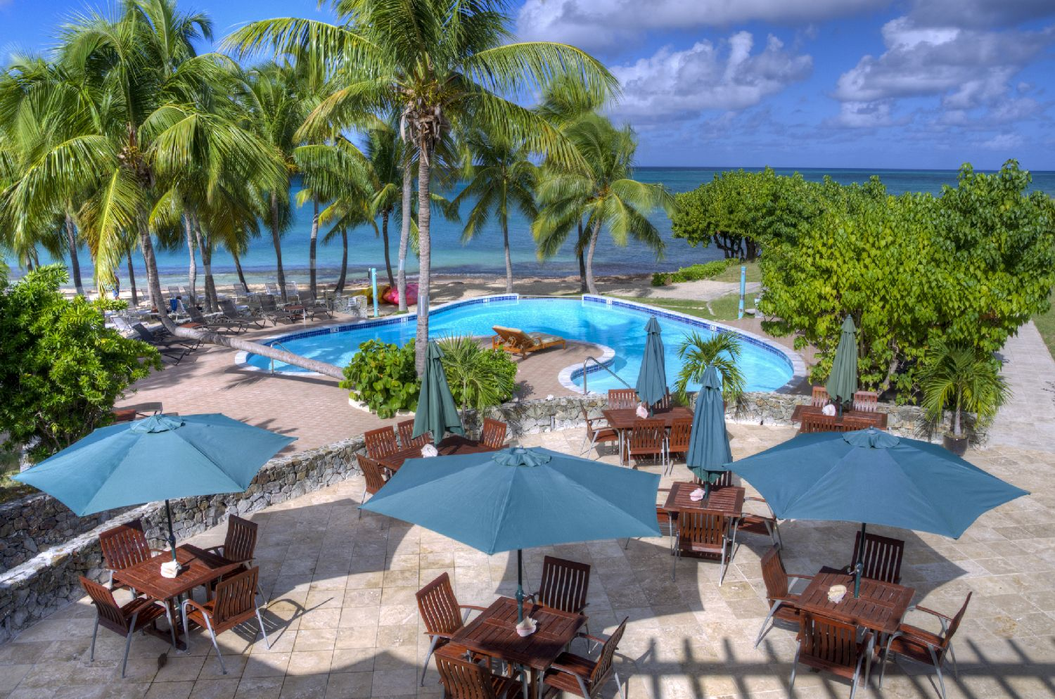 Grotto Pools at The Buccaneer Resort, St. Croix Photo by Steve Simonsen Photography