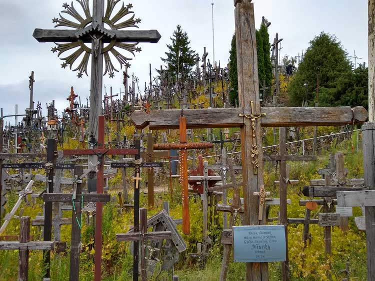 Hill of Crosses. Photo by Eric D. Goodman