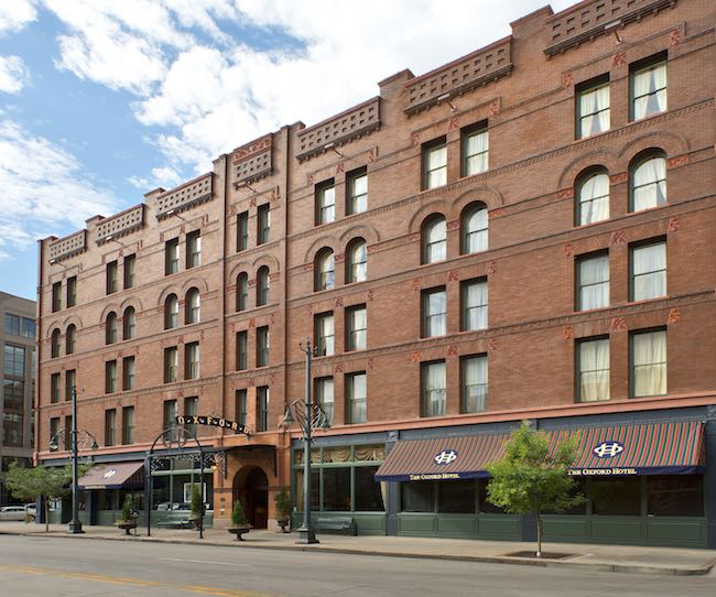 The Oxford Hotel at 1600 17th St. near Union Station. Photo courtesy of Oxford Hotel