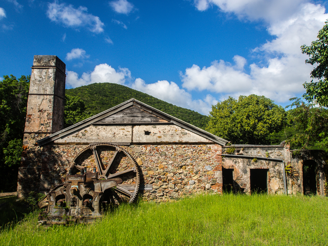 Sugar mill ruin on St. John By Jonathan Maver/Dreamstime.com
