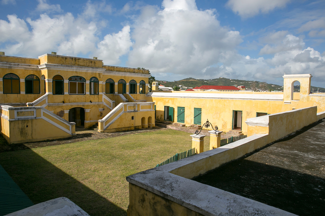 Fort Christiansvaern in St. Croix. Photo by U.S. Virgin Islands Department of Tourism