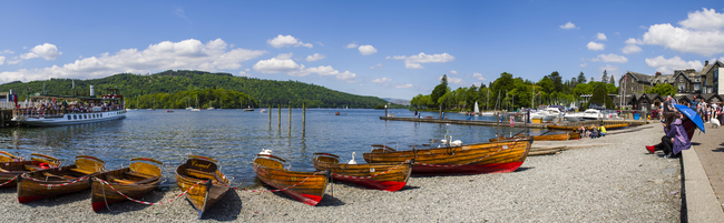 Bowness-on-Windermere Lake Front. Photo by Chris Dorney/Dreamstime.com