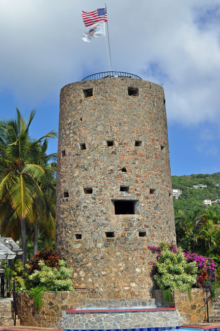 Blackbeard's Castle on  St. Thomas  By Neil Letson/Dreamstime.com