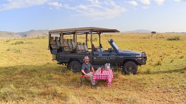 Safari Breakfast in the Masai Mara