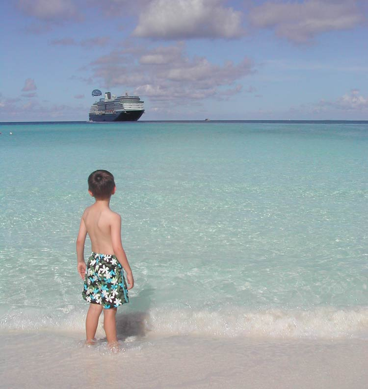 Cruises are a popular family vacation option.