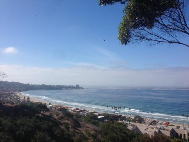 san diego-beach-road trip