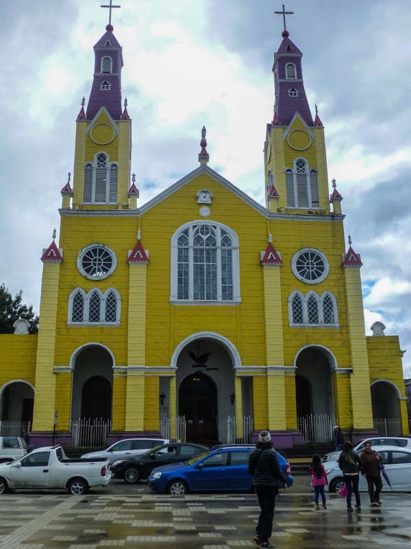 The Church of San Francisco, built by Jesuits and local shipbuilders, combines Europe's Neo-Gothic style with shipbuilding techniques. Many of these churches are designated UNESCO World Heritage Sites, Chiloé, Chile