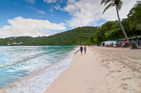 Magens Bay Beach on St. Thomas By Byvalet/Dreamstime.com