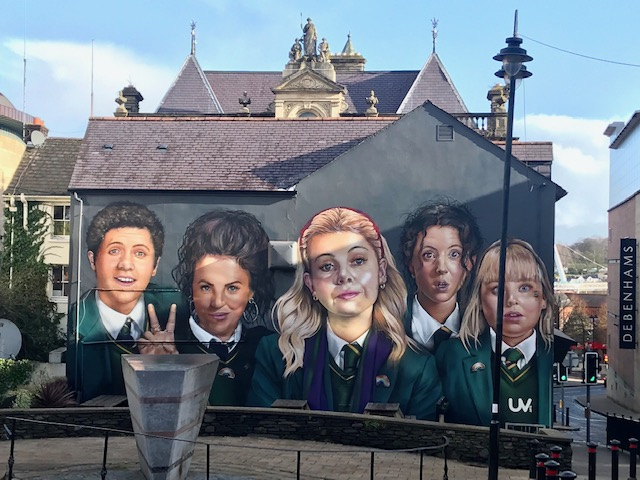 Derry Girls Serve As Elixir For Previously Troubled Derry, Northern Ireland