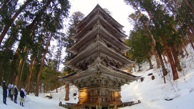 Mount Haguro pagoda