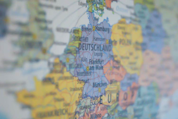 Map of Europe - Planning a trip to Europe