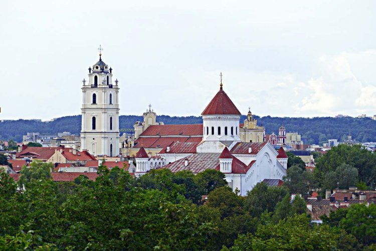 Travel in Vilnius, Lithuania