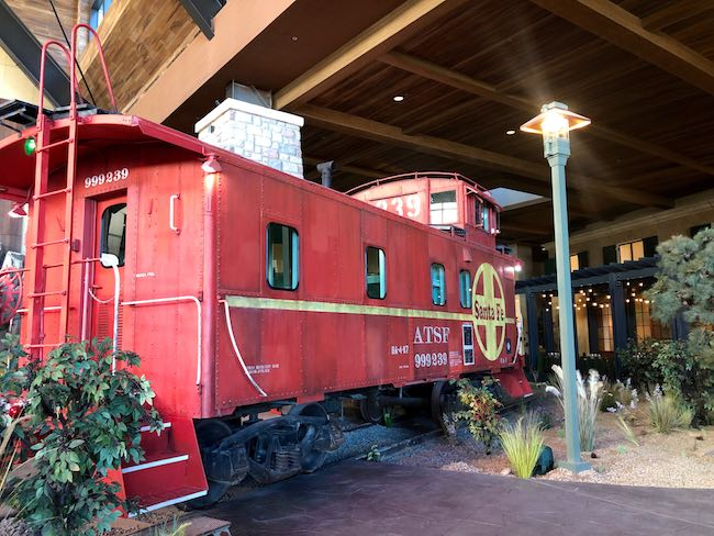 Original engine of the Santa Fe RR. Photo by Claudia Carbone