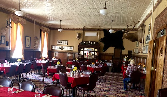 Governor's Room for private parties. Photo courtesy of Park County Travel Council