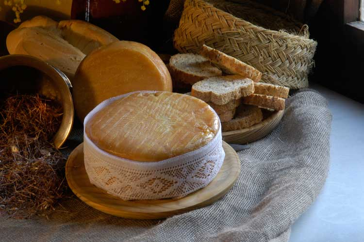 Torta del Casar cheese. Photo by Extremadura Tourist Board