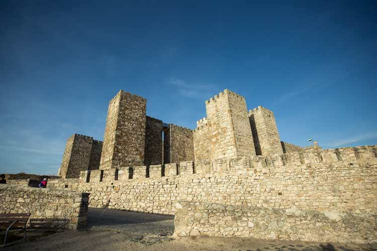 The grand stone fortress, The Castillo, in Trujillo. Photo by Extremadura Tourist Board