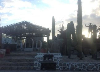 hotel mision - gardens- catavina- baja california- from canada to mexico- road trip-campervan
