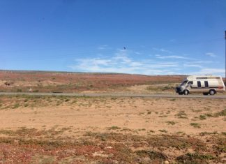 travel through baja-mexico-campervan-road trip