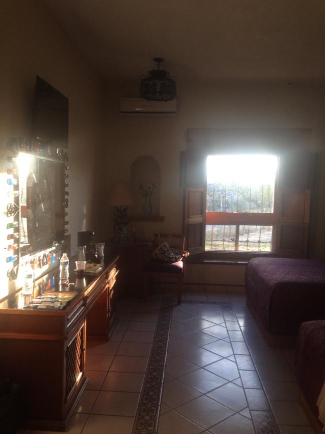 hotel mision, catavina, baja california, from canada to mexico, road trip, hotel room