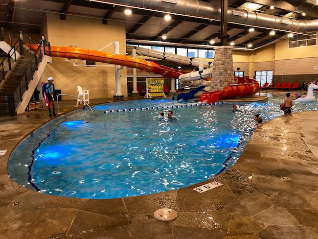 Indoor pools at Gaylord Rockies. Photo by Claudia Carbone