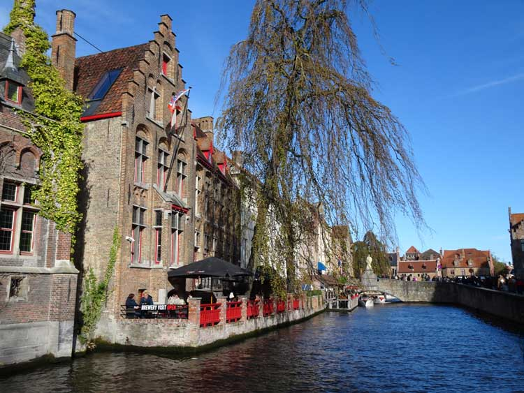 Bruges has been called the Venice of the North. Photo by Janna Graber