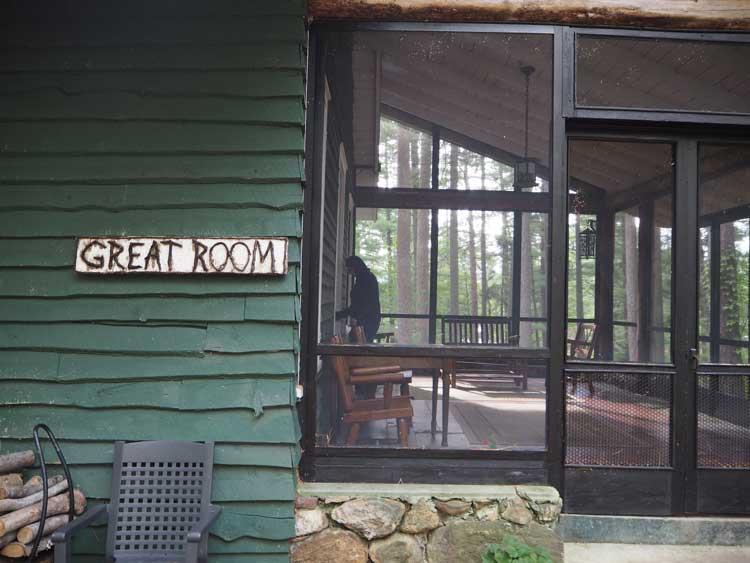 White Pine Camp in the Adirondacks