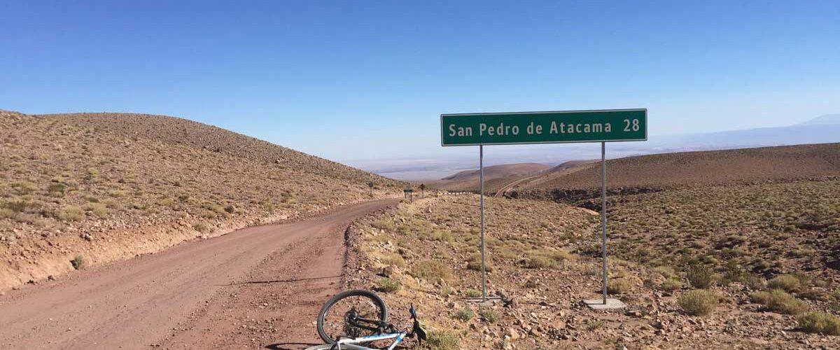 Biking through the Atacama Desert
