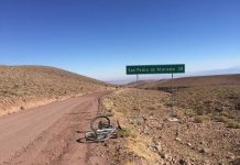 Biking through the Atacama Desert