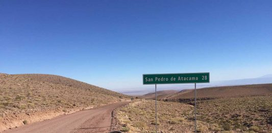 Biking through Chile's Atacama Desert