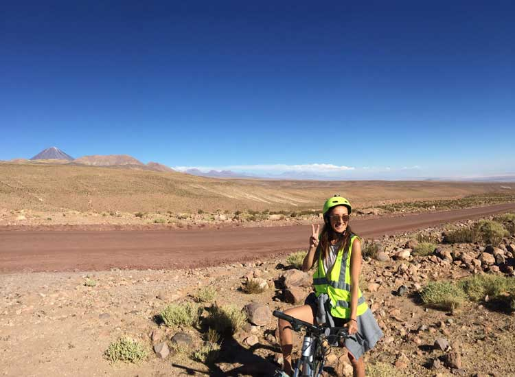 Biking in the Atacama Desert was a fun adventure