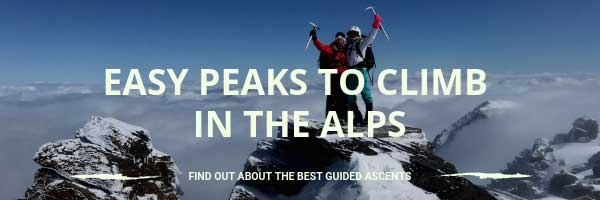 Find a mountain guide to climb in France