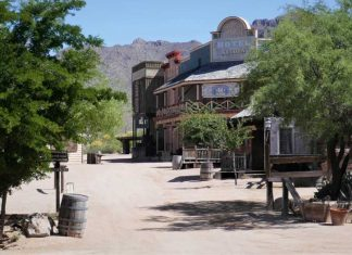 Old Tucson in Arizona